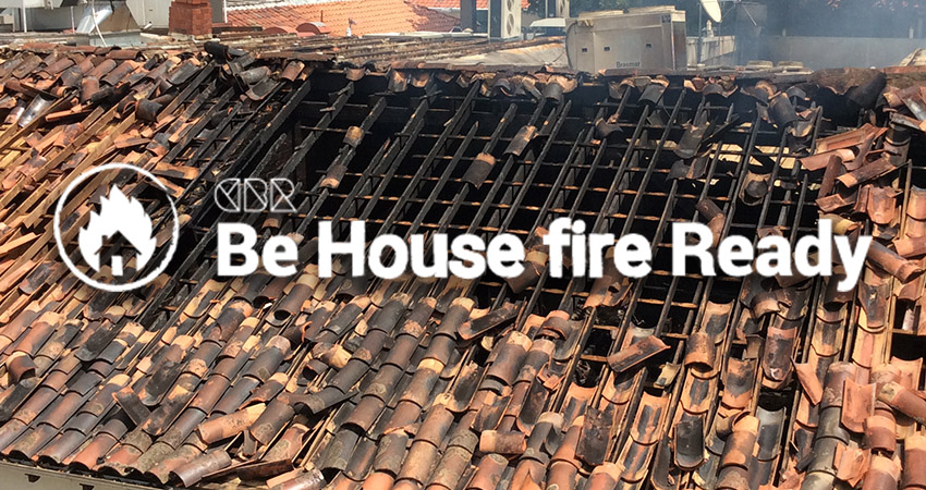 Be House fire Ready